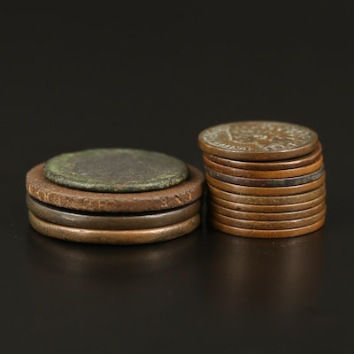 Large Cents, Half Cent, and Indian Head Cents, 1794–1904