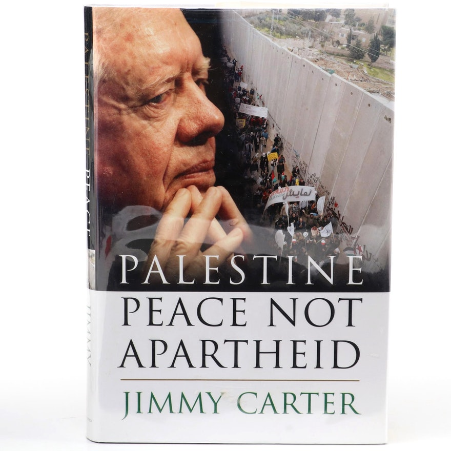 """First Edition """"Palestine: Peace not Apartheid"""" Signed by Jimmy Carter"""