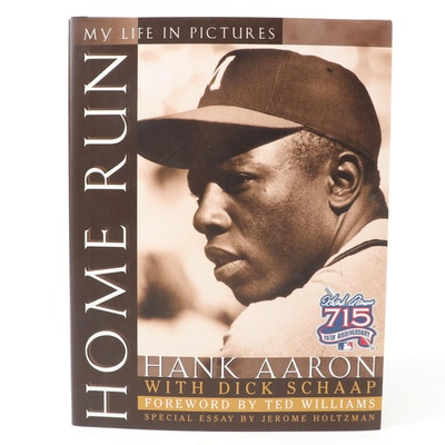 """Home Run: My Life in Pictures"" First Edition, Signed by Hank Aaron, 1999"