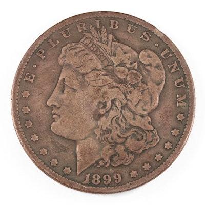 Better Date 1899-S Morgan Silver Dollar
