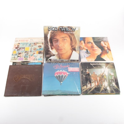 Styx, The Carpenters, Carole King, and Other Vinyl Records