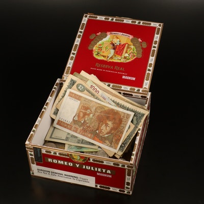 545 Foreign Coins and 19 Foreign Banknotes