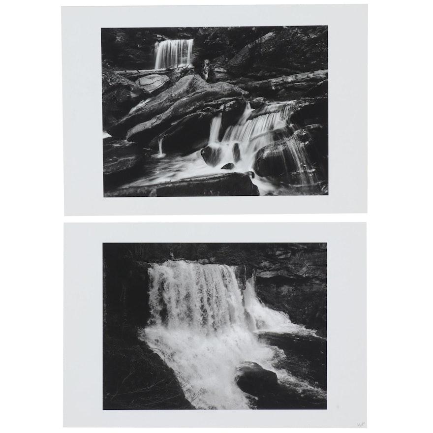 William D. Wade Digital Print Photographs of Waterfalls