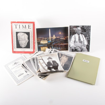 Ephemera Collection of Signed Items and Photographs