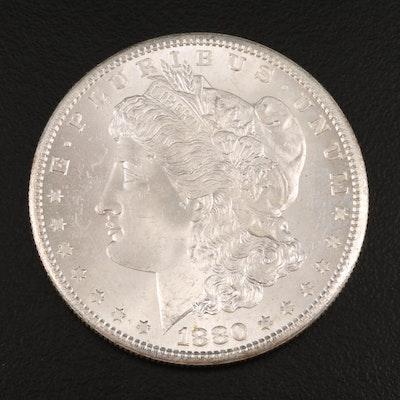 1880-S Uncirculated Morgan Silver Dollar