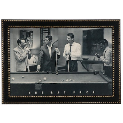 "Offset Lithograph Poster ""The Rat Pack"""