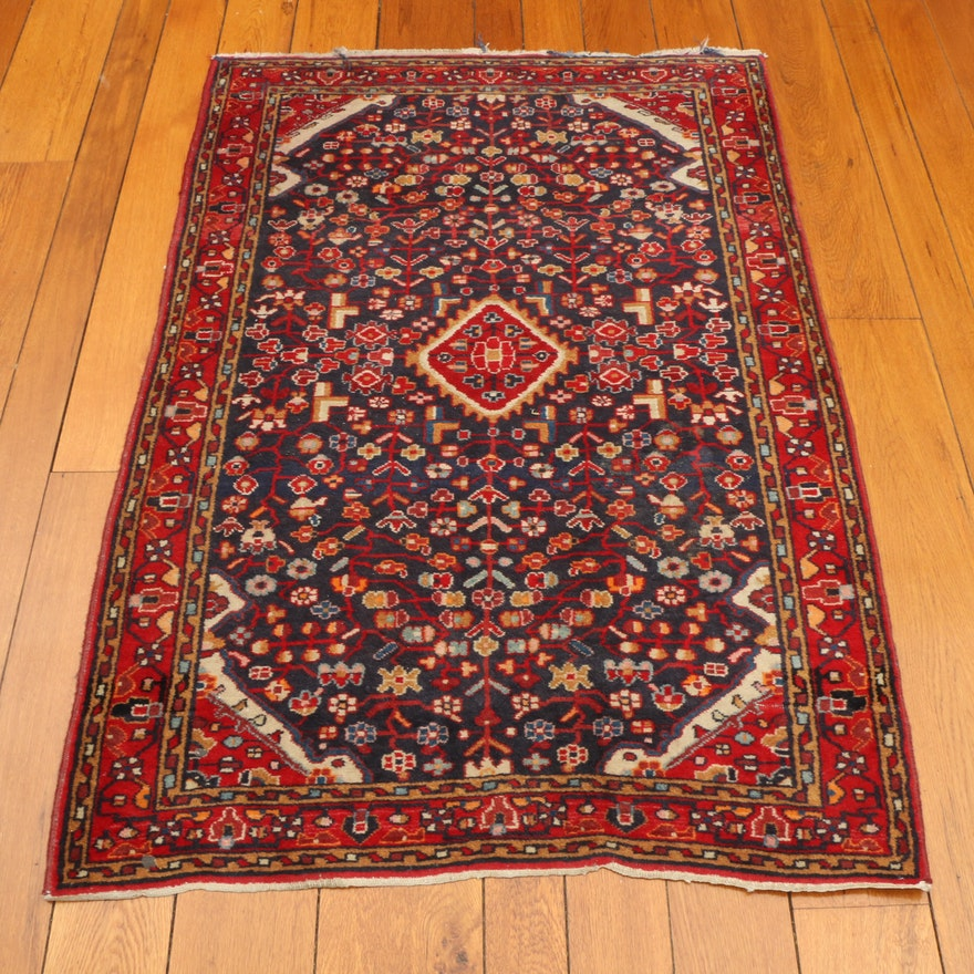 3'7 x 5'6 Hand-Knotted Northwest Persian Wool Area Rug