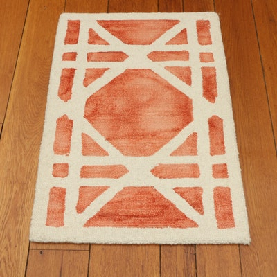 2' x 3' Ballard Designs Safavieh Mayla Dip Dyed Machine Tufted Accent Rug