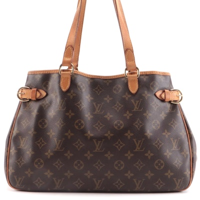 Louis Vuitton Batignolles Horizontal in Monogram Canvas and Vachetta Leather