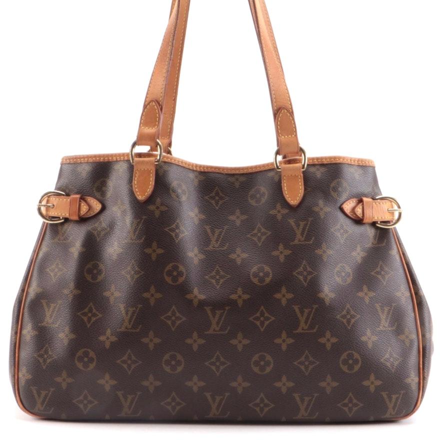Louis Vuitton Batignolles Horizontal in Monogram Canvas and Vachetta Leather