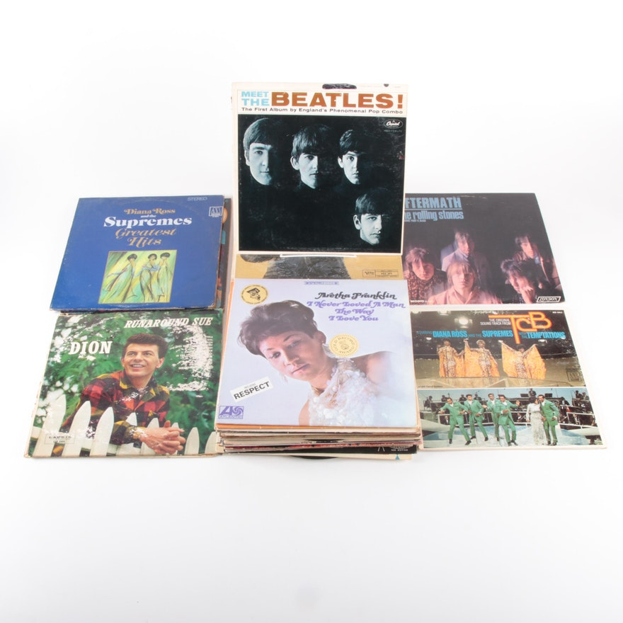 The Beatles and Other Rock, Comedy and Classical Vinyl Records