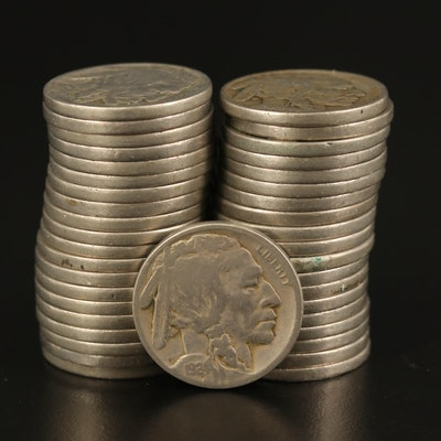 1924 Buffalo Nickels with Readable Dates