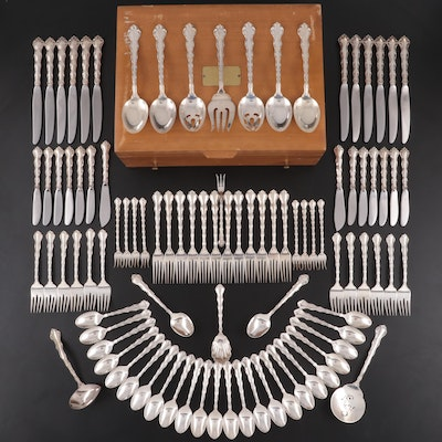 "Reed & Barton ""Tara"" Sterling Silver Flatware and Utensils, 1955–2011"