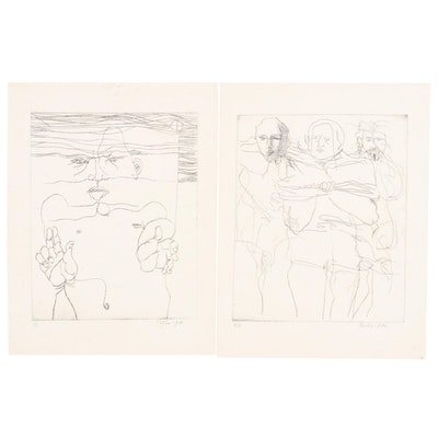 John Tuska Etchings on Paper