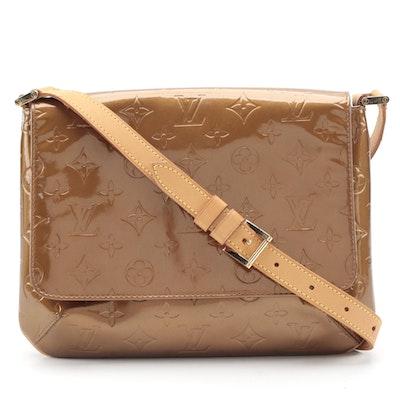 Louis Vuitton Thompson Street Shoulder Bag in Bronze Monogram Vernis