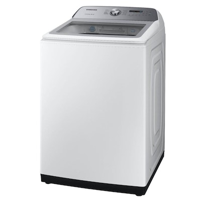 Samsung White 5.0 Cu. Ft. High Efficiency Top Load Washer with Active WaterJet