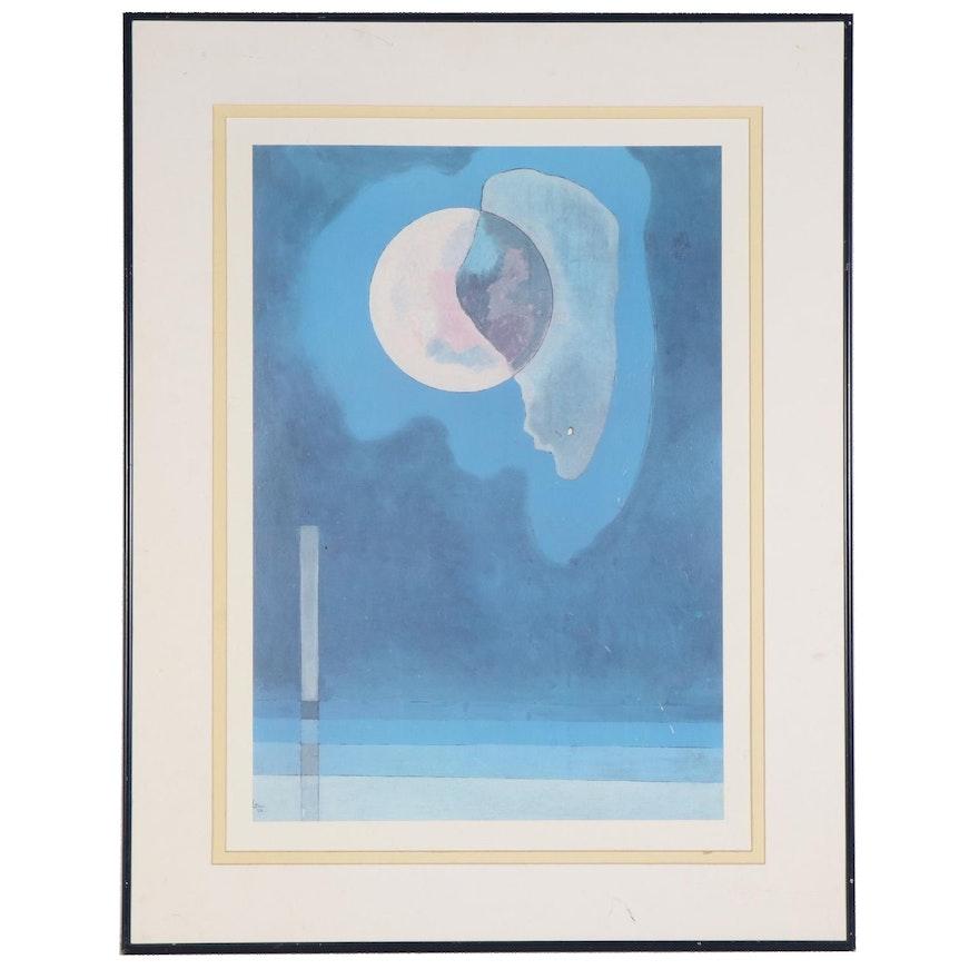 Offset Lithograph after Wassily Kandinsky