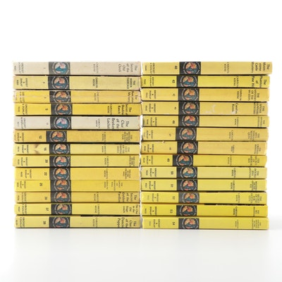 "Carolyn Keene's ""Nancy Drew"" Mystery Series Novels"
