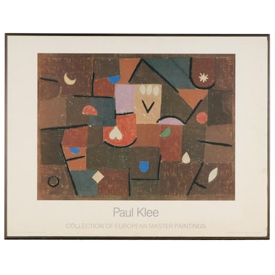 "Offset Lithograph after Paul Klee ""Collection of European Master Paintings"""