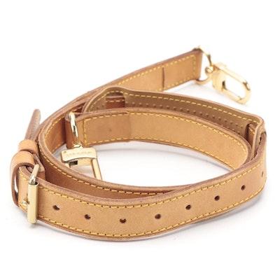 Louis Vuitton Bandoulière Strap in Vachetta Leather