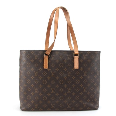Louis Vuitton Luco Tote in Monogram Canvas and Vachetta Leather