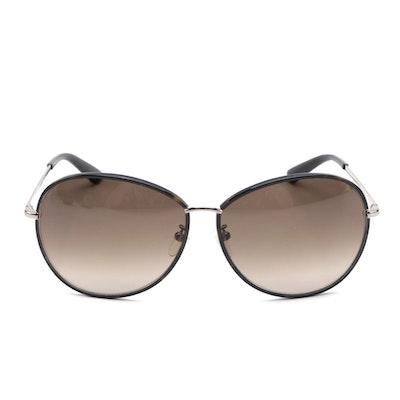 ETRO ET101SK Round Sunglasses in Black and Tortoise
