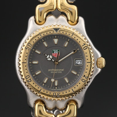 TAG Heuer Sports Elegance Two-Tone Quartz Diver Wristwatch