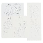 John Tuska Figure Study Ink Drawings, circa 1995