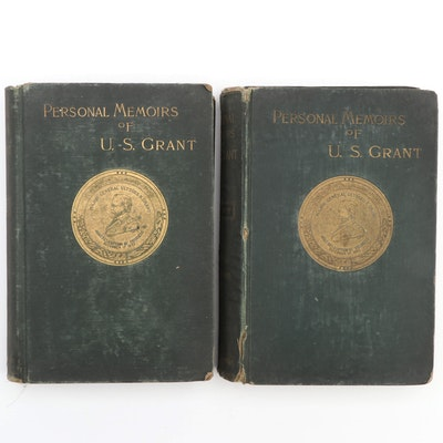 "First Edition ""Personal Memoirs of U. S. Grant"" Two-Volume Set, 1885–1886"
