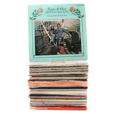 Sonny & Cher with Soundtracks, Classical, Easy Listening and Other Vinyl Records