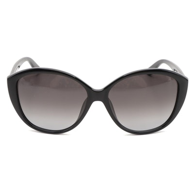 ETRO ET612SK Black Butterfly Sunglasses with Gradient Lenses