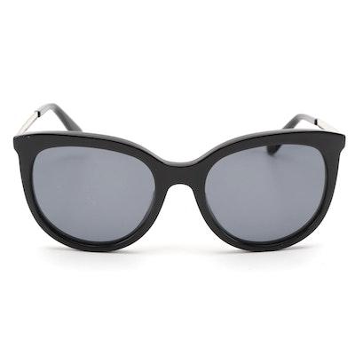 ETRO ET656S Black Horn-Rimmed Sunglasses
