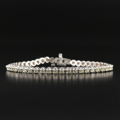 14K 3.39 CTW Diamond Line Bracelet