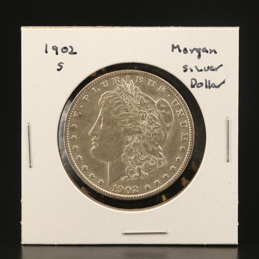 Key Date 1902-S Morgan Silver Dollar