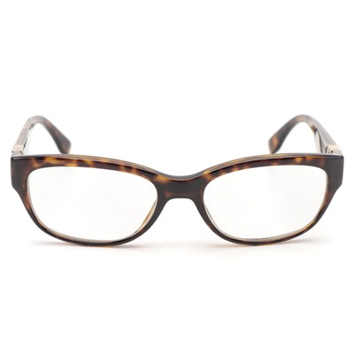 Fendi FF0048 Fendista Rectangular Frame Eyeglasses