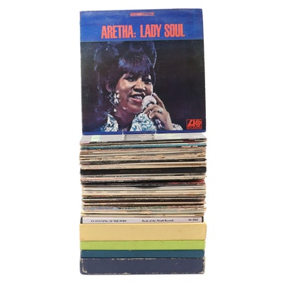Aretha Franklin, R&B, Soul, Classical, Soundtracks and Other Vinyl Records