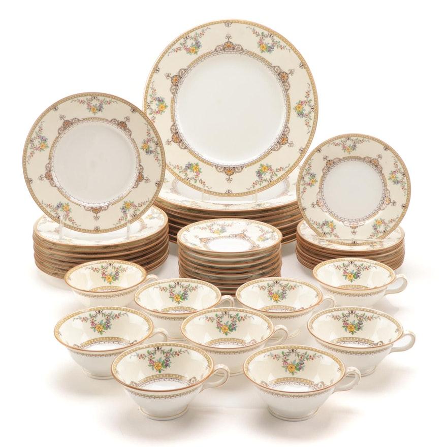 """Minton """"Waverly"""" Bone China Dinnerware, 1912–1950"""