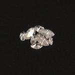 Loose 0.47 CTW Marquise Cut Diamonds