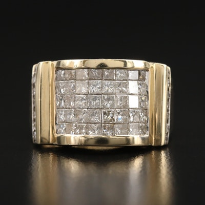 14K 3.36 CTW Diamond Band