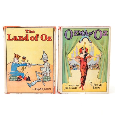 "L. Frank Baum's ""The Land of Oz"" and ""Ozma of Oz"", circa 1939"