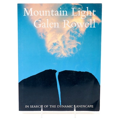 "Third Printing ""Mountain Light"" by Galen Rowell, 1986"