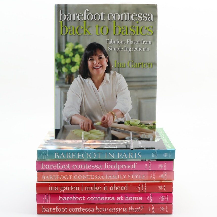 Barefoot Contessa Cookbook Collection Including First Editions