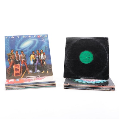 The Jackson 5, Shaquille O'Neal, Rick James and Other Vinyl Records