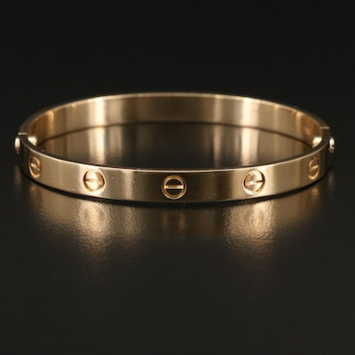 "Cartier ""Love"" 18K Bangle"