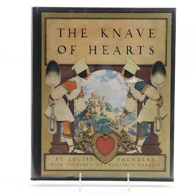 "Maxfield Parrish Illustrated ""The Knave of Hearts"" by Louise Saunders, 2008"