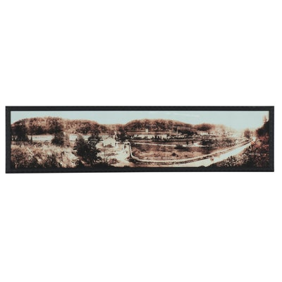Panoramic Giclée of The Old Taylor Distillery, Late 20th Century