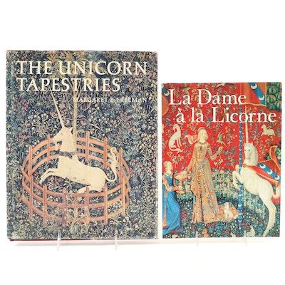 """""""The Unicorn Tapestries"""" and """"La Dame à la Licorne"""" Art Reference Books"""