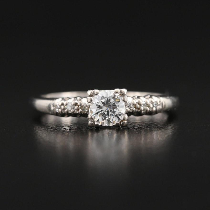 Jabel 18K Diamond Ring