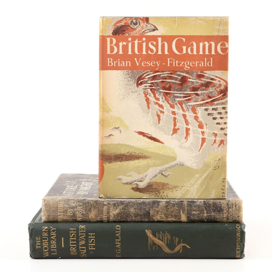 """""""British Game"""" by Brian Vesey-Fitzgerald and More Nature and Hunting Books"""