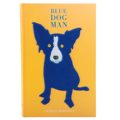 "Signed First Printing ""Blue Dog Man"" by George Rodrigue, 1999"